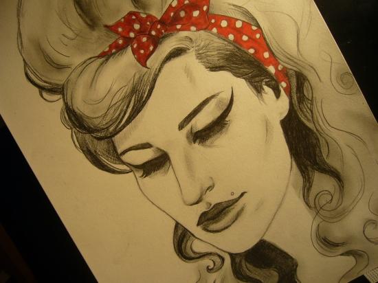 Amy Winehouse par PsYkoGlaM